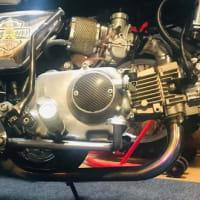 モンキー カスタム (ゴリラタンク) 8インチ 備忘録2 110cc