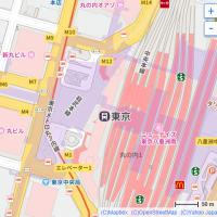 8月の東京駅:日本生命丸の内ビル前を通り抜けて東京駅丸の内北口交差点前へ PART2