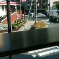 松崎町マックの窓から見えるガスト。