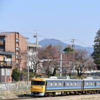 昨日と今日の撮影 飯田線はキヤ95 検測運転より