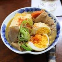 メカジキの湯葉揚げ&夏の鍋