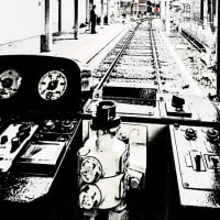 サヨナラ恵美須町駅(Ⅱ)フォトアート