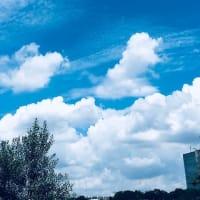 梅雨明けの青空がまぶしかった(⋈◍>◡<◍)。✧♡