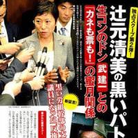 またまた関西生コン逮捕、辻元清美議員どうする?「セメントいて!」