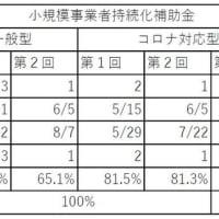 コロナ対応型小規模事業者持続化補助金1