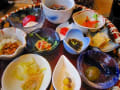 温泉宿の食事♪