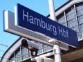 ドイツ ハンブルク駅構内