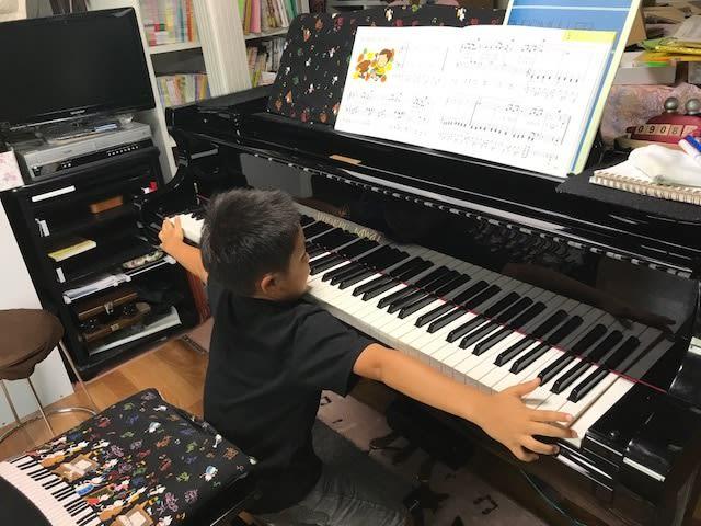 ピアノの鍵盤 88鍵 さてさて届くかな~