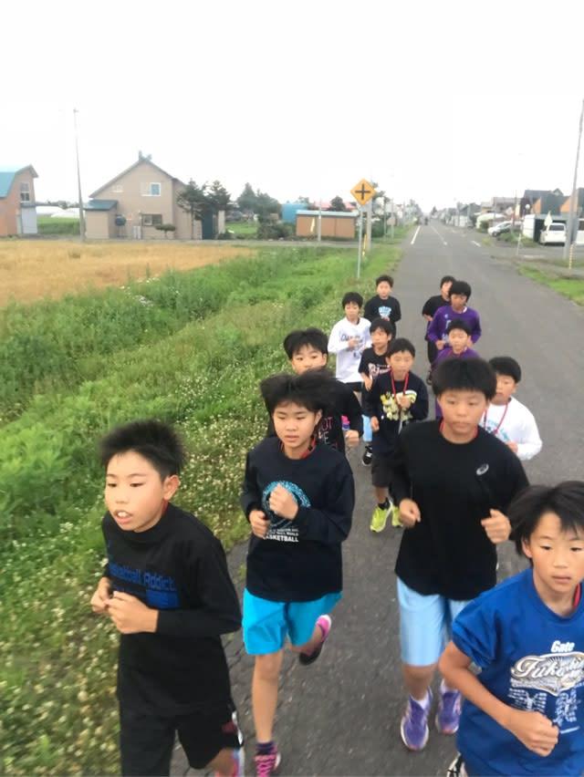 25 27日ロードワーク - 須賀川西...