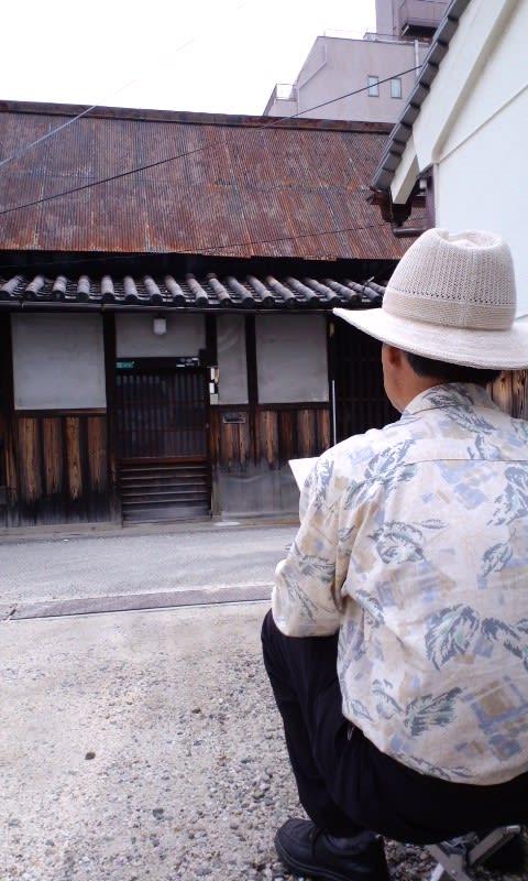 チケット制スケッチ、旧平野郷・環濠集落⑤