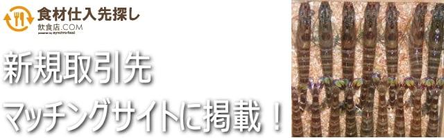 東京築地のエビ