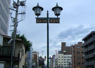 博労(馬喰)町はギリギリ城下に含まれる
