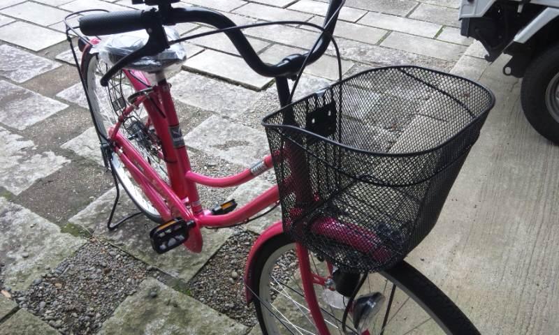 自転車が景品?