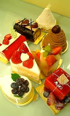 ハッピークリスマスケーキ
