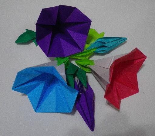 クリスマス 折り紙 朝顔 折り紙 : blog.goo.ne.jp