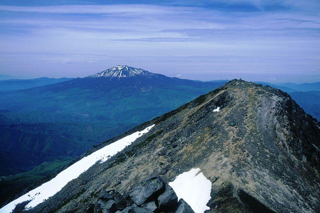 2014 09 29 心肺停止【わが郷】乗鞍岳から見た、御嶽山
