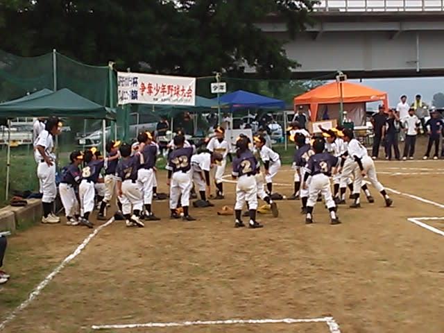 青木島エコーズ杯 準優勝