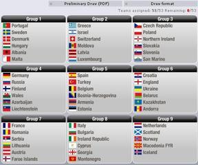 2010年ワールドカップヨーロッパ...