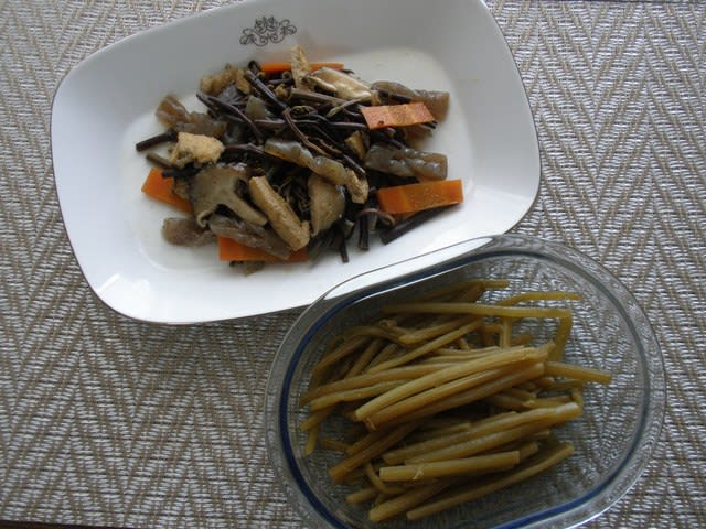 ワラビ 料理