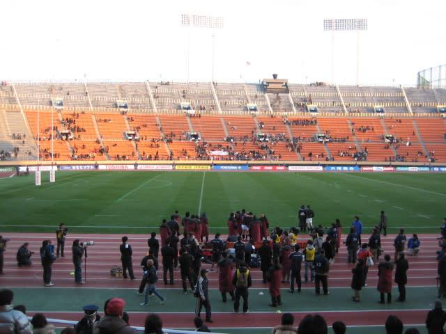 2006-2007大学ラグビー決勝戦 早稲田の敗戦