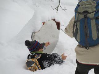 冬芽観察会3