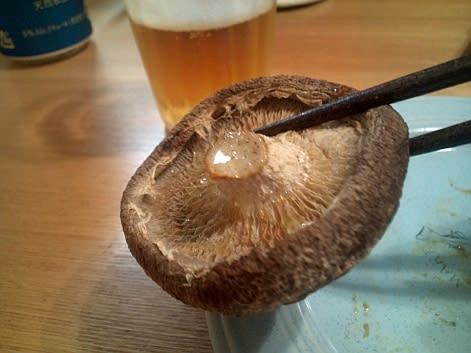 シイタケ 魚焼きグリル