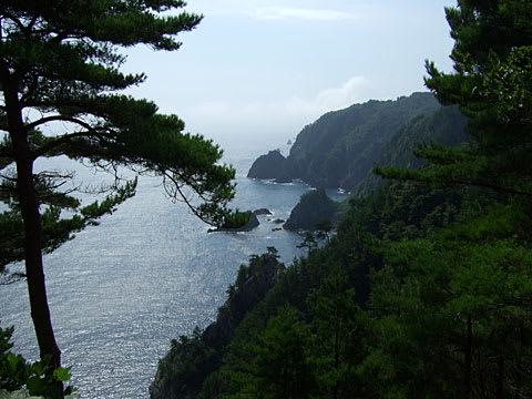 黒崎灯台からの展望