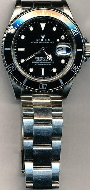 big sale 789a2 1ef0c ロレックス(ROLEX)サブマリーナ デイト (Ref.16610 ...