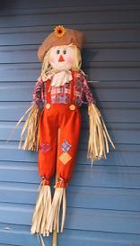 案山子の人形