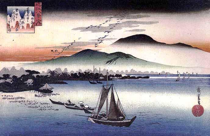 満月寺浮御堂、堅田の落雁は近江八景の一つです。 - 土曜日は ...