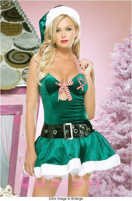 678685030973a グリーンクリスマス衣装 サンタドレス コスプレ コスチューム - 激安 ...