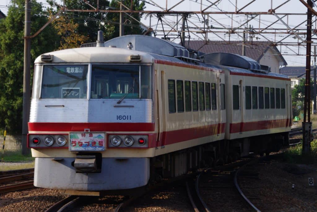 富山地方鉄道元西武レッドアロー号