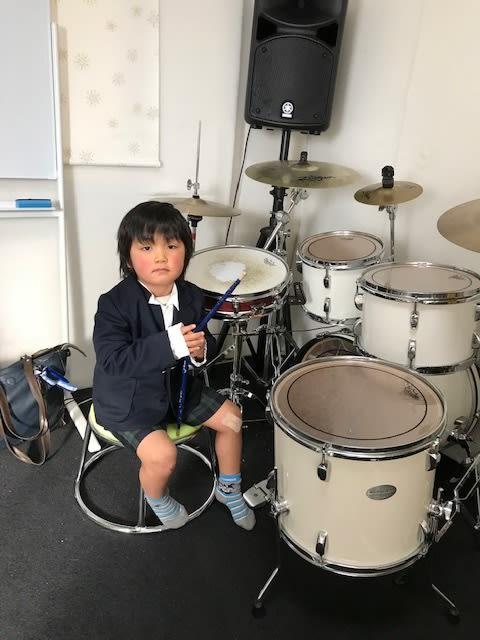 ドラムコース 最年少さんは?