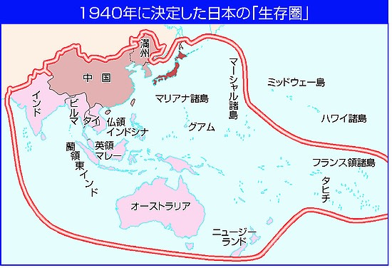 大東亜共栄圏の地図 - 時事解説...