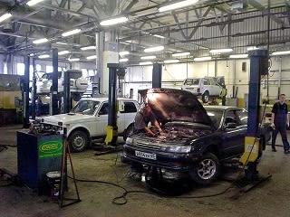 R サハリン便り 自動車修理工場 - N45-50