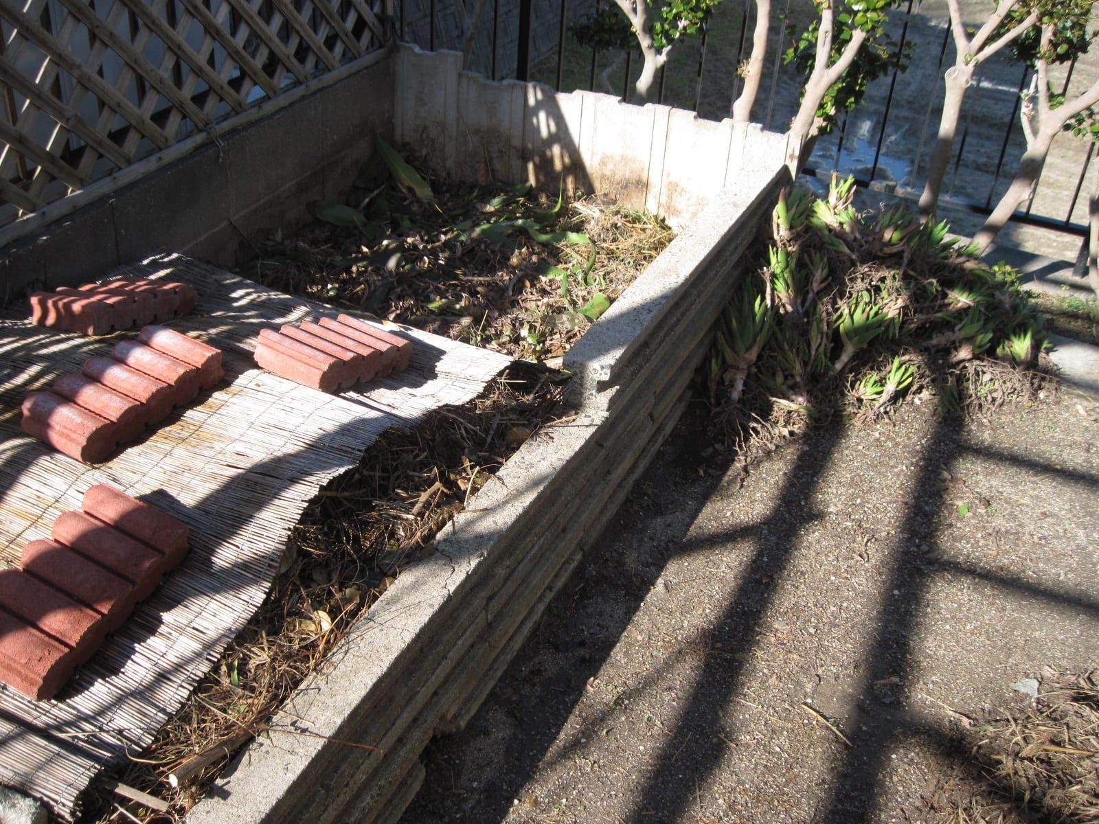 堆肥場・整頓の画像