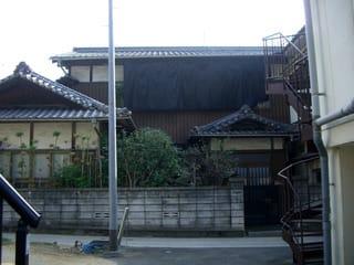 佐藤歯科の北側の家