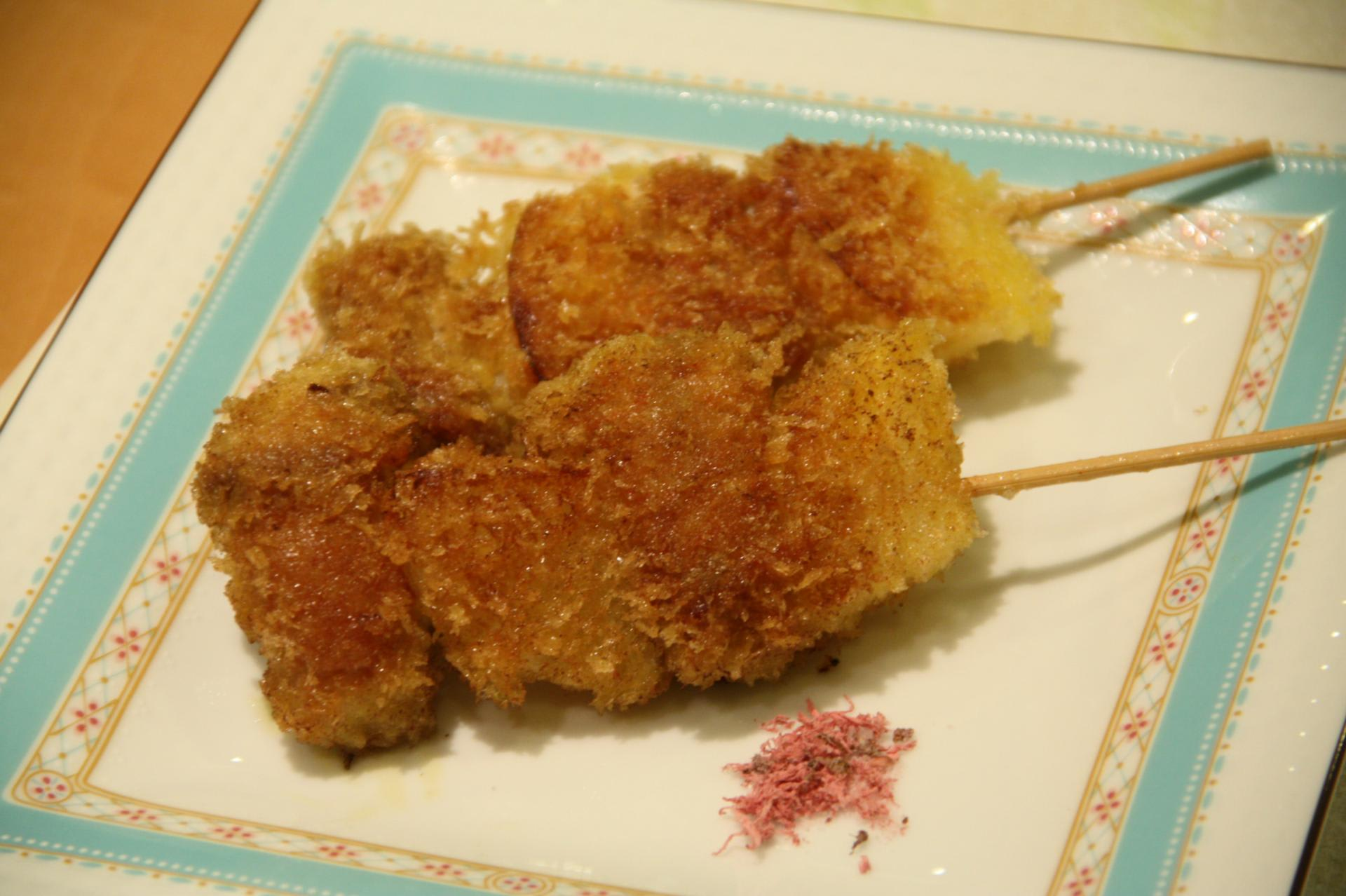 揚げ レシピ 串