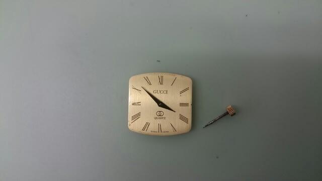 時計修理の日々   GUCCI(グッチ)の時計修理