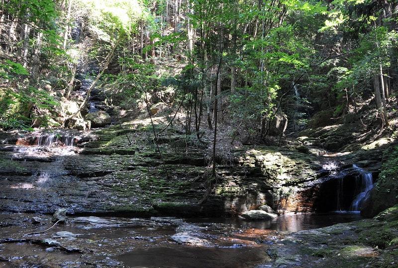 陀羅滝と倶呂滝