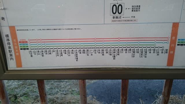 名鉄本線の停車駅