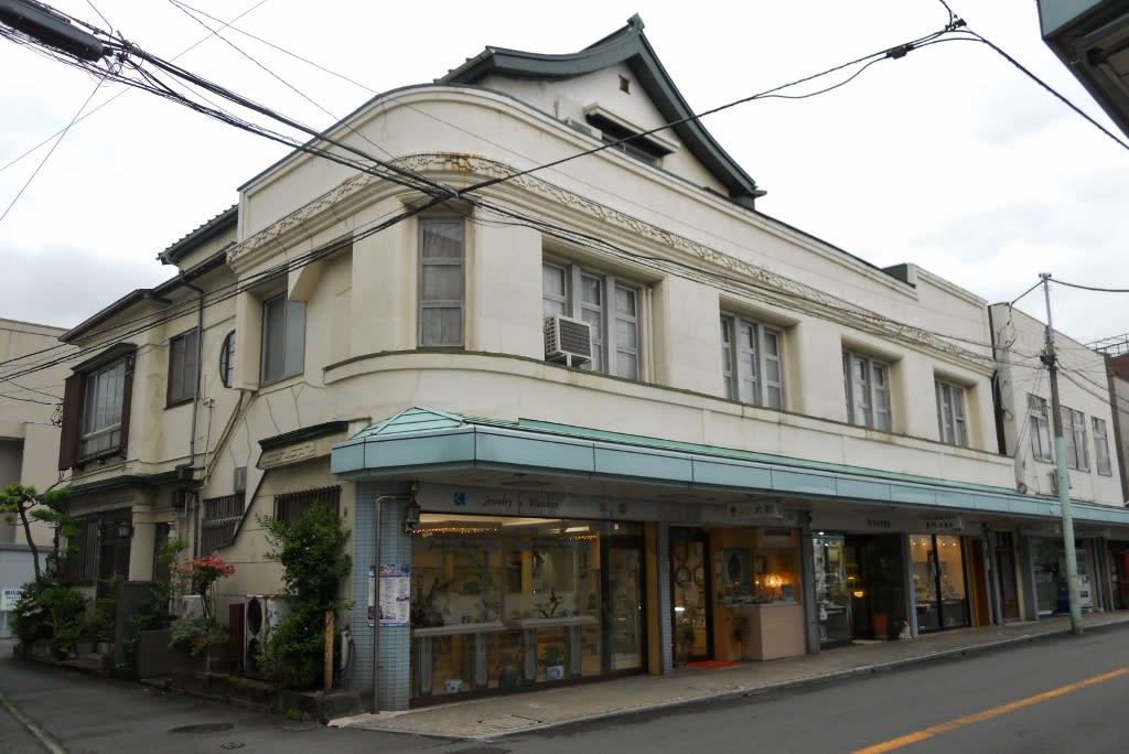木部時計店/伊東市銀座元町 - ぼくの近代建築コレクション