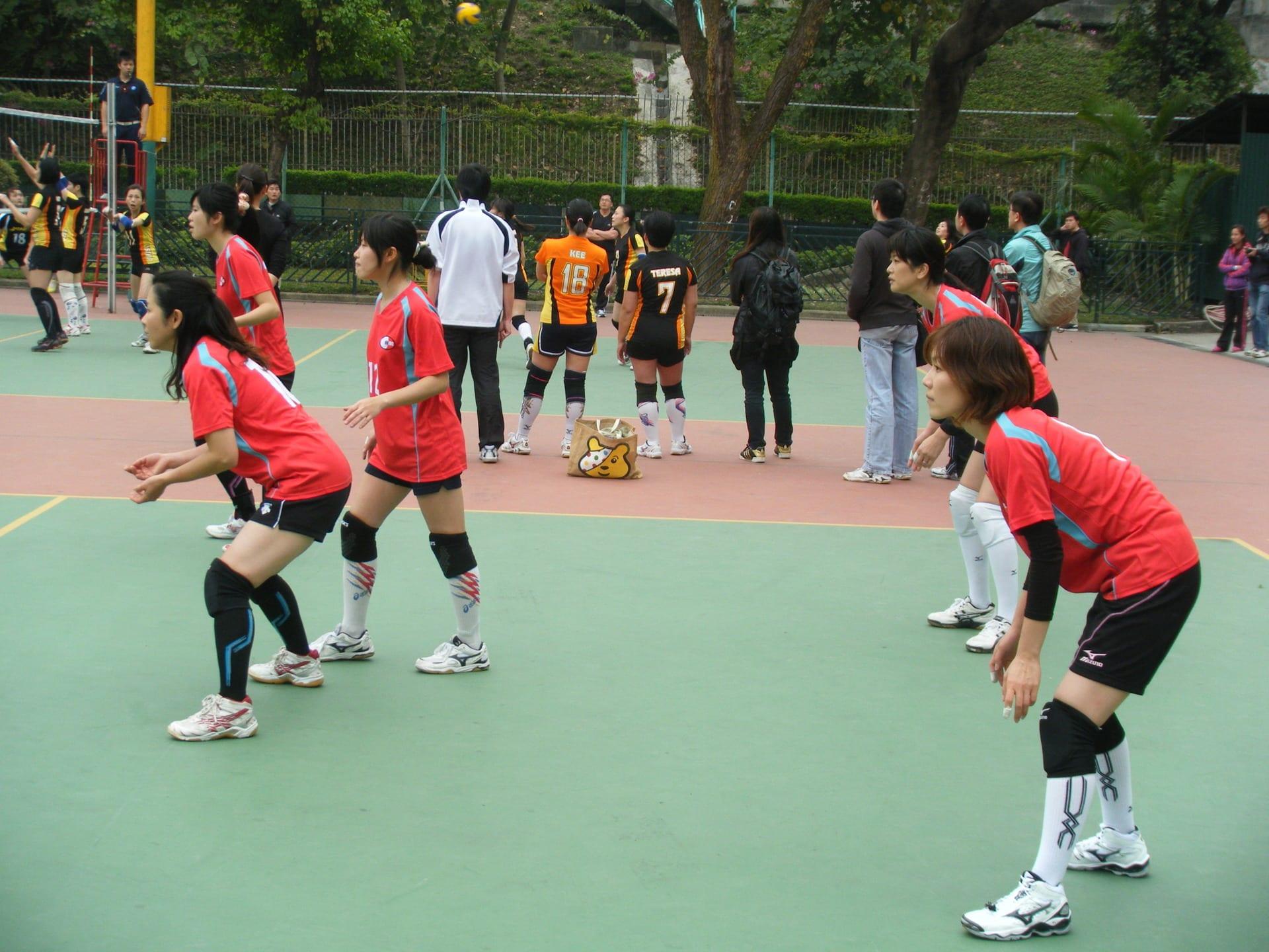 香港日本人倶楽部 バレーボール部