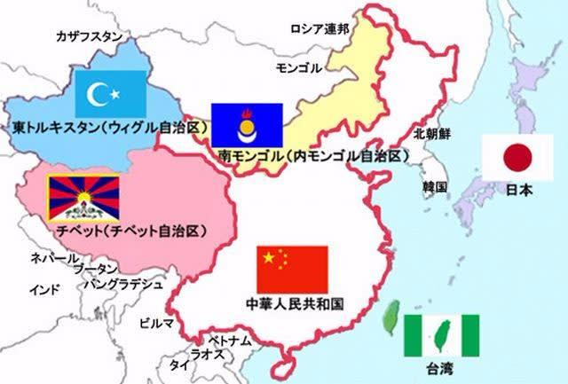 中華人民共和国の領土 - 慶喜