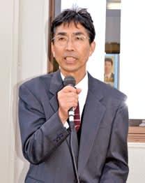 印南町長選出馬の湯川和幸氏(新人)後援会事務所開きで決意 ...