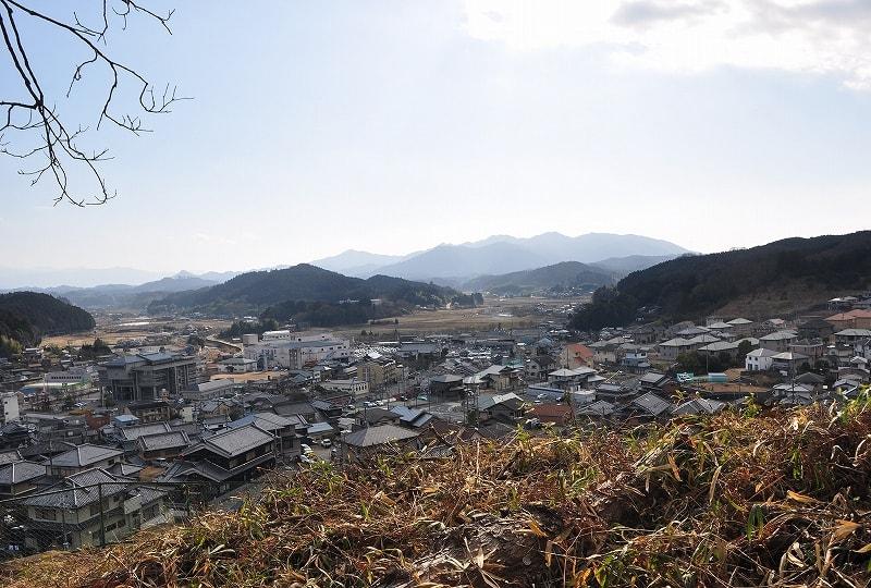 谷畑古墳からの眺望