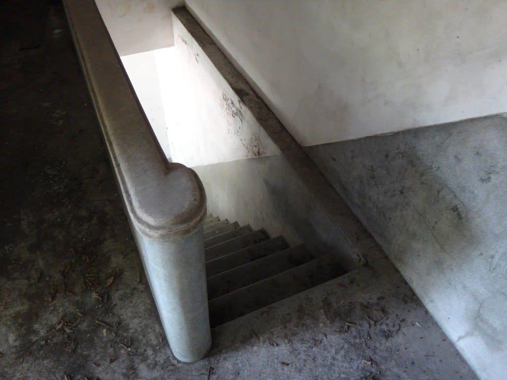 かわいい階段の家