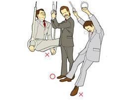 吊革テクニック - もののはじめblog