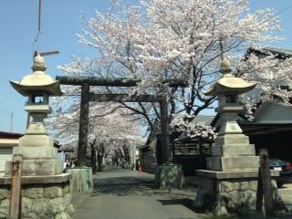 古井神社 参道入口