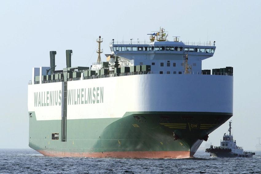 自動車運搬船 aida swe wallenius wilhelmsen lines 4 26